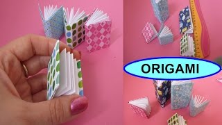 getlinkyoutube.com-DIY Origami Notizbuch SCHNELL und EINFACH falten, Mini Modular Book easy Tutorial, Оригами книжка