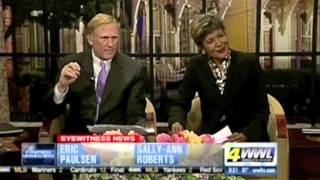 DEX DALEY & JAM-X, 'LIVE' ON WWLTV MORNING SHOW, NEW ORLEANS