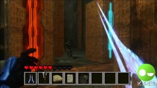 Minecraft on Halo 3