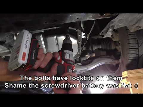 2009 Scion XB transmission filter change