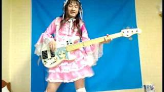 [Makishimamuzahorumon] koinomegaraba bēsu hiitemita koi no mega ravu~ā Коверы / музыка на бас гитаре