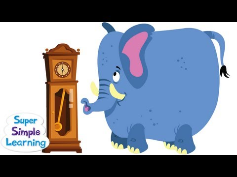 Hickory Dickory Dock From Super Simple Songs