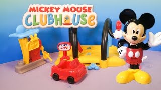 getlinkyoutube.com-MICKEY MOUSE CLUBHOUSE Disney  Mickey Mouse Car Wash Toys Video Unboxing
