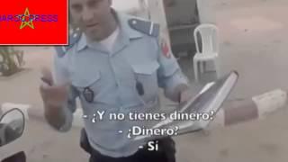 getlinkyoutube.com-2015 FULL HD شوهة الأمن المغربي يتسول سائح إسباني في طريقه الى مدينة العيون