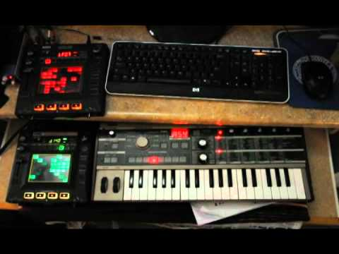 KP3, Kaossilator Pro and microKORG demo song