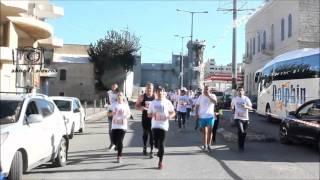 getlinkyoutube.com-انطلاق مارثون فلسطين الدولي الرابع في بيت لحم 1-4-2016