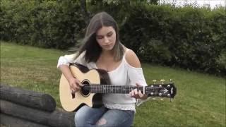 getlinkyoutube.com-(The Beatles) Here Comes The Sun - Gabriella Quevedo