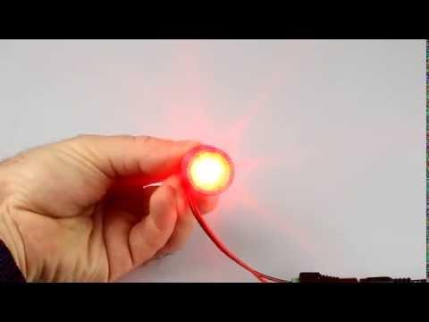 Лампа светодиодная СТОП 1156-5W CREE (red)