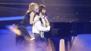 Tu Cara Me Suena - Edurne y Daniel Diges imitan a Marta Sánchez y Andrea Bocelli