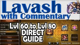 ➜ Wartune GUIDE Level 60 to Level 80 Equipment Synthesis and Refining