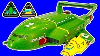 getlinkyoutube.com-Thunderbird 2 & 4 SUPERSIZE AWESOME NEW Thunderbirds Are Go Toys