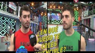 Ping-pong entre Paio y Bruno (08-07-2015)