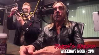 getlinkyoutube.com-Iggy Pop and Josh Homme In-Studio with Jonesy's Jukebox