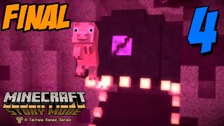 getlinkyoutube.com-UN FINAL TRISTE!!! - MINECRAFT STORY MODE - Episodio 4 (Parte 4)