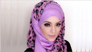 getlinkyoutube.com-🌟Hijab Tutorial-07🌟 Cara Memakai Jilbab Pashmina Simple Modern Violet Style (Up to date)