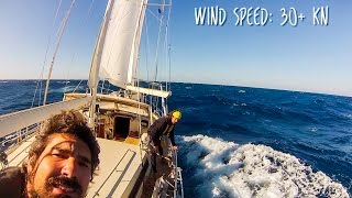 Sailing at 18 KNOTS down the WILD COAST of South Africa! SV Delos Sailing Ep. 102 width=