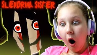 SLENDRINA HAS A SISTER?!?! Playing Hello Neighbor Granny Style Game