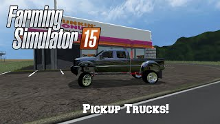getlinkyoutube.com-Farming Simulator 15: Mod Spotlight #91: Pickup Trucks!