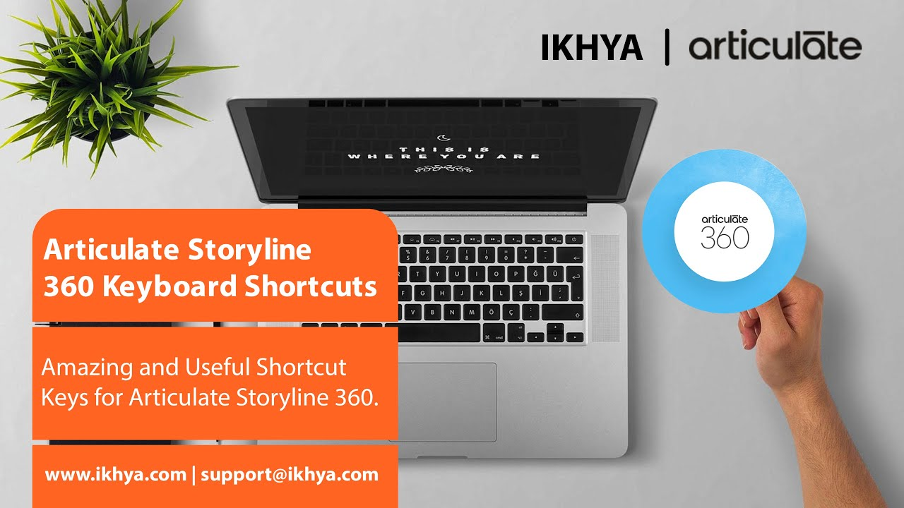 Watch Video Become Articulate Storyline 360 Master with These Keyboard Shortcuts