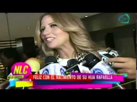 Raquel Bigorra feliz con el nacimiento de su hija Rafaella
