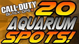 getlinkyoutube.com-ALL 20 Aquarium Spots! - BO3 (Hiding Spots, Lines of Sight, Jumps) - Black Ops 3