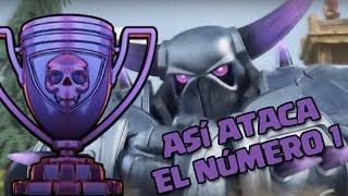getlinkyoutube.com-¡ASÍ ATACA EL PRIMERO DEL MUNDO! | Ataques | Clash of Clans