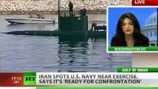 getlinkyoutube.com-IRAN threatens U.S. Navy
