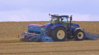New Holland T6 video report