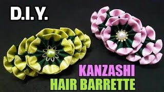 D.I.Y. Kanzashi Hair Barrette | MyInDulzens