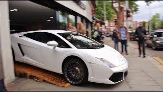 getlinkyoutube.com-Skilful & Brave Lamborghini Seller King of Maneuver !