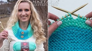 getlinkyoutube.com-Learn How to Knit - Knitting for Absolute Beginners - Beginner DIY Tutorial Knit Purl Cast On Off