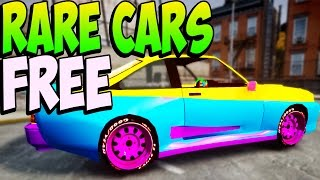getlinkyoutube.com-GTA 5 Online - RARE CARS FREE Location - Secret Rare Vehicles (GTA 5 Cars Guide)