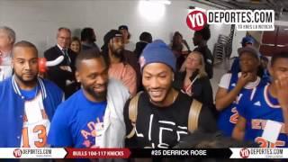 Derrick Rose back to Chicago Bulls