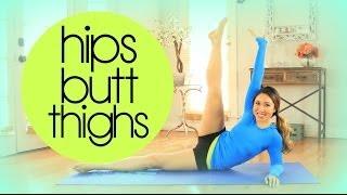 getlinkyoutube.com-Hips Butt 'n Thighs Super Shaper Workout   POP Pilates
