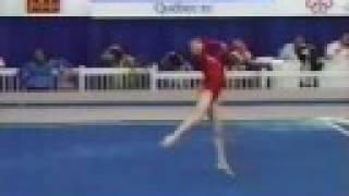 getlinkyoutube.com-Oksana Omelianchik - 1985 Montreal - FX (1) 10.00