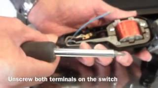 getlinkyoutube.com-Wahl clipper lead and switch replacement repair
