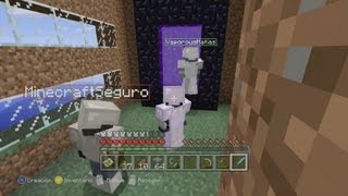 getlinkyoutube.com-ZONA MINECRAFT: NOS VAMOS AL NETHER CON SUSCRIPTORES