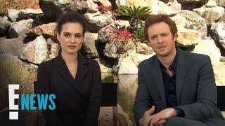 "getlinkyoutube.com-""Chicago Med"" Love Affair Heats Up! | Celebrity Sit Down | E! News"