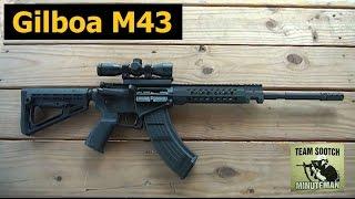 getlinkyoutube.com-New Gilboa M43 AR-15 7 62x39 Israeli Rifle