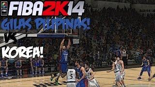 getlinkyoutube.com-FIBA 2K14 Gilas Pilipinas vs The World #10 - Vs Korea