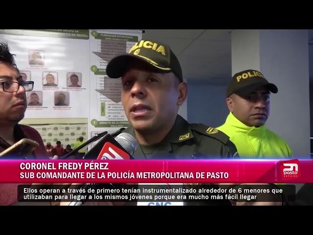 POLICÍA METROPOLITANA CAPTURA A BANDA LOS MACHETES