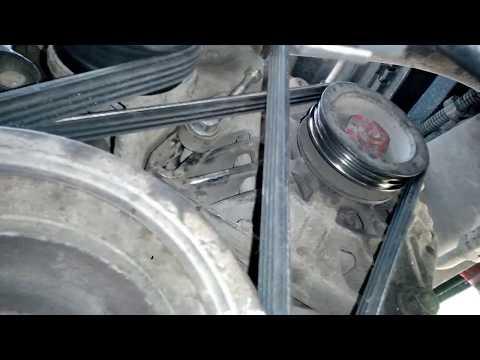 Как натянуть ремень генератора Рено Клио 1.2 16V