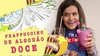 getlinkyoutube.com-#Maisera - Receita Frappuccino de Algodão Doce - Cotton Candy Frap!