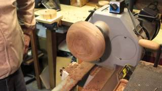 Wood Turning - Beginners Guide #3 - A Bowl