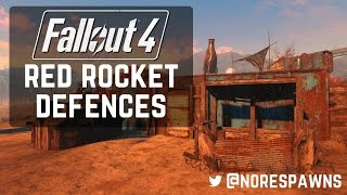 getlinkyoutube.com-Fallout 4 - Red Rocket Guard Posts & Turret Stands