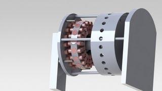 getlinkyoutube.com-Prototype moteur magnétique 2.0