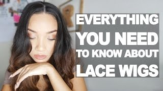 getlinkyoutube.com-HAIR| Lace Wig Info for Beginners + Make it Look NATURAL!