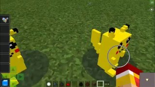 Minecraft PE 1.0 - PokeDroid Mod - Pokemon Con Sonido! - Mods para Pocket Edition