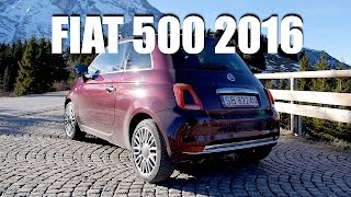 getlinkyoutube.com-Fiat 500 TwinAir 2016 (ENG) - Test Drive and Review