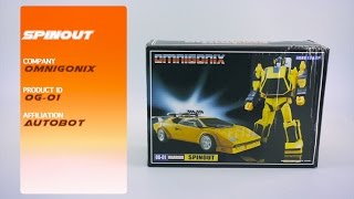 Transformers Review: Omnigonix OG-01 Spinout // P4L Reviews